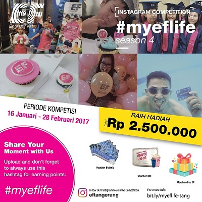 Instagram Competition: #MYEFLIFE
